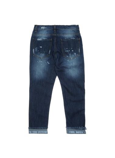 Panço Erkek Çocuk Denim Pantolon 18211000100 Lacivert